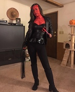 Dominatrix Devil Homemade Costume