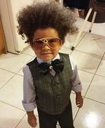 Don King Homemade Costume