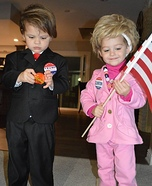 Donald and Hillary Homemade Costume