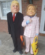 Donald and Hillary Costumes