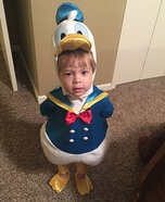Donald Duck Baby Costume