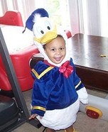 Disney's Donald Duck Baby Costume