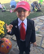 Donald Trump Homemade Costume