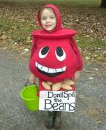 Don't Spill the Beans Homemade Costume