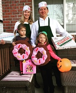 Donut Family Homemade Costume