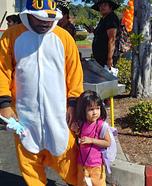 Dora the Explorer Homemade Costume
