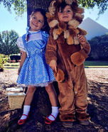 Dorothy and the Cowardly Lion Costumes