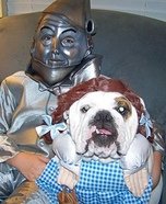 Dorothy and the Tin Man Homemade Costume