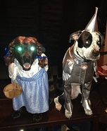 Dorothy and the Tin Man Dogs Costume