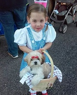 Wizard of Oz Dorothy and Toto Costume