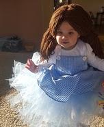 DIY Dorothy Baby Costume