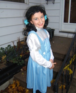 Dorothy from the Wizard of Oz Homemade Costume