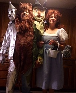 Dorothy & Friends Homemade Costume