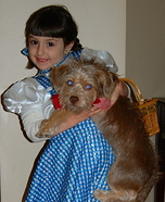 Dorothy & Toto Halloween Costume Idea
