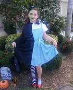 Dorothy / the Wicked Witch Homemade Costume