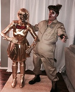 Dot Matrix and Barf from SpaceBalls Homemade Costume