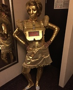 Dot Matrix from Spaceballs Homemade Costume