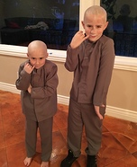 Dr. Evil and Mini Me Homemade Costume