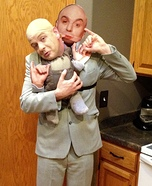 Dr. Evil & Mini Me Homemade Costume