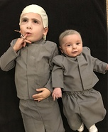 Dr Evil & Mini Me Homemade Costume