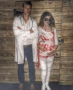 Dr. Feltersnatch & his Mummy to be Homemade Costume