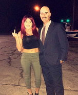 Dr. Phil and Danielle Bregoli Homemade Costume