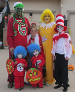 Dr. Seuss Characters Family Costume