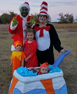 Children's book Halloween costumes - Dr. Seuss Characters Family Costumes