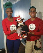 Dr. Seuss Family Homemade Costume