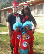 Dr. Suess Homemade Costume