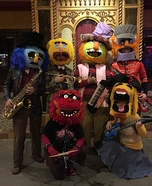 Dr. Teeth and The Electric Mayhem Homemade Costume