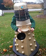 Dr. Who Dalek Homemade Costume