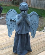 Dr. Who Weeping Angel Homemade Costume