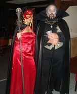 Dracula and She Devil Couples Costume