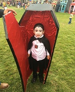 Dracula Girl Homemade Costume
