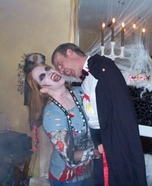 Homemade Dracula and Zombie Costumes