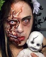 Drag Queen Zombie Halloween Costume