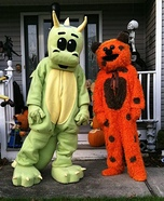 Homemade Dragon Mascot Costumes
