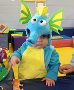 Cute Dragon Baby Costume