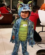 Scary Dragon Baby Costume