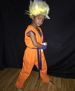 Homemade Goku Costume