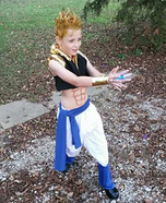 Dragon Ball Z Super Gogeta Homemade Costume