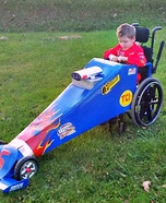 Dragster Wheelchair Costume