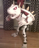 Dry Bowser Homemade Costume