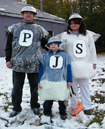 Mr. & Mrs. Salt & Pepper homemade costume