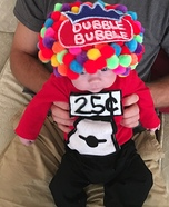 Dubble Bubble Gumball Machine Homemade Costume