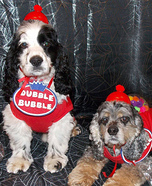 Dubble Dog Dubble Bubble Gumball Machines Homemade Costume