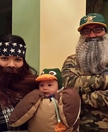 Family costume ideas - Duck Dynasty Family Costume