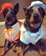 Dumb and Dumber Dogs Costume