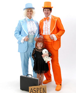 Fun family Halloween costume ideas - Dumb and Dumber Family Homemade Costume